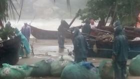 Thanh Hóa: Áp thấp nhiệt đới gây mưa lớn, sẵn sàng sơ tán dân