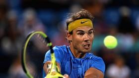 Nadal trong trận thua Anderson