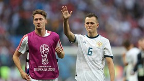 Alexey Miranchuk ở World Cup 2018
