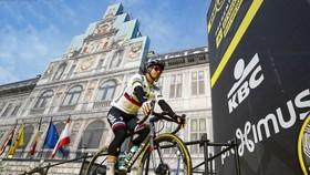 Peter Sagan ở buổi ra mắt Tour of Flanders 2019