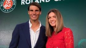 Nadal và Halep, 2 nhà đương kim vô địch của Roland Garros