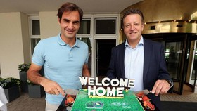 "Roger Federer quay trở về ""nhà"" ở Halle Open"