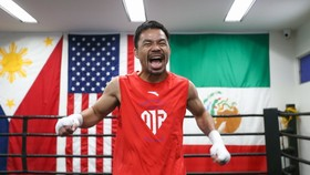 Manny Pacquiao dốc sức tập luyện