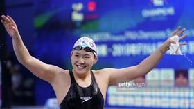 Niềm vui của Ye Shiwen sau khi giành HCB