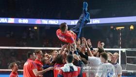Bầu không khí của niềm tin đang bao trùm tuyển bóng chuyền Nga