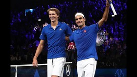 Zverev mới gia nhập Team 8 của Federer