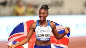 Asher-Smith làm nên lịch sử cho người Anh