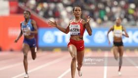 Eid Naser thắng ấn tượng ở cự ly 400m nữ