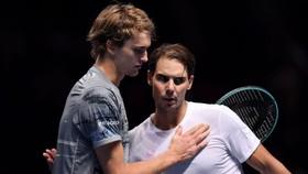 Nadal thua chóng vánh Zverev
