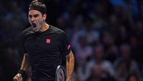 Federer phấn khích sau khi báo thù thành công Djokovic