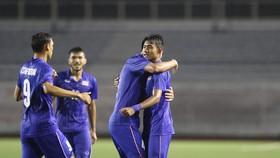 """Thái Lan giành chiến thắng nhọc nhằn và """"hú vía"""" trước U22 Lào"""