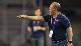 HLV Park Hang Seo vẫn muốn thắng Indonesia ở chung kết (Ảnh Dũng Phương)