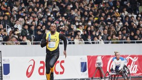 Usain Bolt khai trương đường chạy ở SVĐ Quốc gia mới