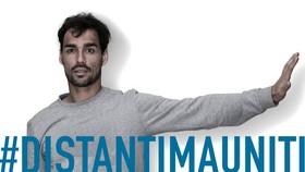 Fognini kêu gọi nước Ý đoàn kết qua hashtag #Distantimauniti
