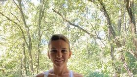 Simona Halep đang rất tươi tắn sau một thời gian dài không thi đấu