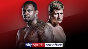 Hình ảnh quảng bá trận Whyte - Povetkin trên Sky Sports