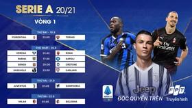 Lịch thi đấu vòng 1 của Serie A mùa này