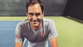 Hình ảnh Federer đếm ngược đến Qatar Open trên Twitter