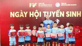 Hình ảnh buổi tuyển sinh của PVF tại Thái Nguyên