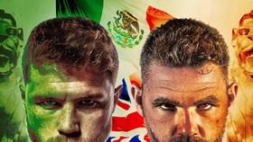 Hình ảnh quảng bá trận Canelo vs Billy Joe