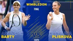 Barty sẽ đấu Pliskova ở chung kết đơn nữ