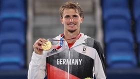Zverev giành HCV quần vợt đơn nam