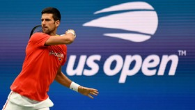 Djokovic trong buổi tập mới nhất tại US Open