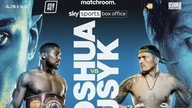 Hình ảnh quảng bá trận AJ vs Usyk