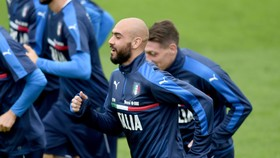 Simone Zaza không bỏ qua cơ hội trở lại tuyển Italia. Ảnh: Getty Images.