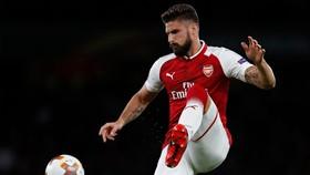 Arsenal của Olivier Giroud xem như bỏ túi suất vào vòng sau. Ảnh: Getty Images.