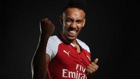 Pierre-Emerick Aubameyang trong sắc áo Arsenal. Ảnh: Arsenal.com