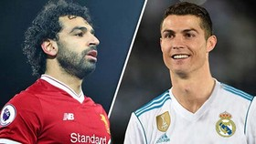 Mo Salah và Ronaldo