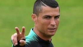 Cristiano Ronaldo tỏ ra rất tập trung khi đến nước Nga.