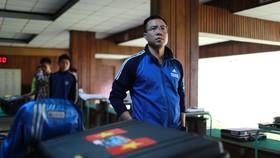 Hoàng Xuân Vinh có tên đăng ký thi đấu các tay súng xuất sắc. Ảnh: NGỌC HẢI