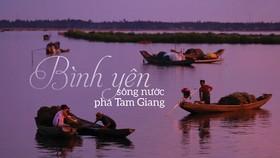 Bình yên sông nước phá Tam Giang
