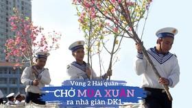 Vùng 2 Hải quân chở mùa xuân ra nhà giàn DK1