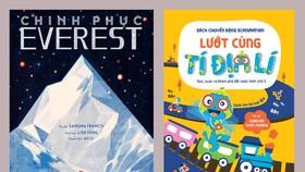 Hai ấn phẩm khoa học địa lí đặc sắc dành cho độc giả nhí