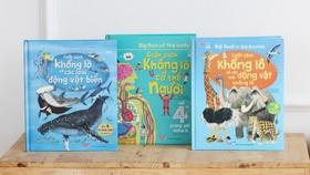 Những bộ sách tương tác độc đáo dành cho trẻ