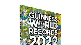 """Phát hành """"Guinness World Records 2022"""" cùng thời điểm với thế giới"""