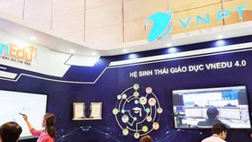 The educational ecosystem of VNPT has been widely used in Vietnam recently. (Photo: SGGP)