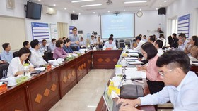 The conference to introduce new tasks and targets for 2021 of the HCMC Department of Science and Technology (Photo: hcmcpv)