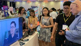 Exhibitions for innovative startups are regularly held in HCMC. (Photo: SGGP)