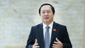 Minister of Science and Technology Huynh Thanh Dat