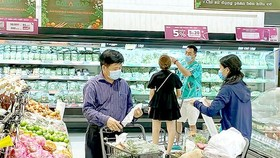 HCMC aims at having all of its supermarkets use eco-friendly plastic bags in 2020. (Photo: SGGP)