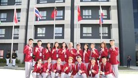 """Lễ thượng cờ """"hoành tráng"""" của đoàn thể thao Việt Nam tại SEA Games 30"""