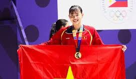 Ánh Viên sẽ nhận 'giải thưởng đặc biệt' tại lễ bế mạc SEA Games 30. Ảnh: Dũng Phương