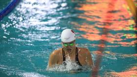   Ánh Viên giành tổng cộng 14 HCV trong ngày thi đấu cuối tại giải bơi VĐQG. Ảnh: Dũng Phương