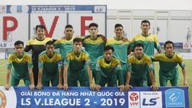 Đội Bình Phước đang dẫn đầu giải hạng Nhất 2019. Ảnh: MINH HOÀNG