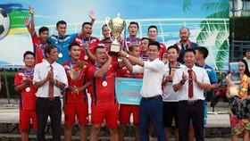 Khánh Hòa đăng quang sau trận chung kết đầy kịch tính. Ảnh: Anh Trần