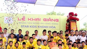 """""""Lò"""" Star Kids xuất hiện đã góp phần giúp bóng đá cộng đồng tại Khánh Hòa thêm phong phú. Ảnh: Thanh Đình"""